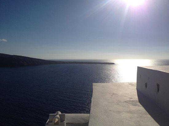 Oia Mare Villas: View from the room..