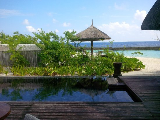 Jumeirah Vittaveli : view from the room