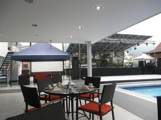 Hotel Chicamocha : Tarima de eventos