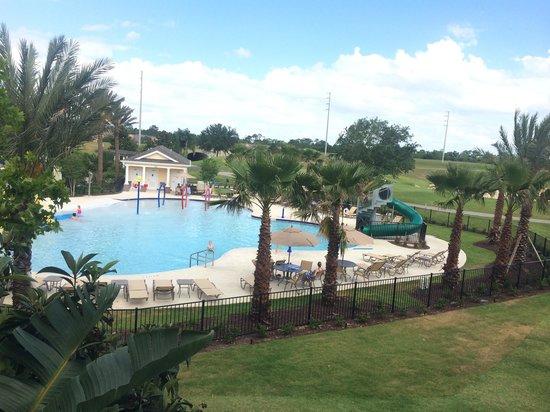 Reunion Resort, A Salamander Golf & Spa Resort: Pool behind villa