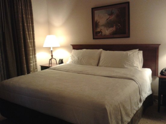Homewood Suites by Hilton Baltimore-BWI Airport: Dormitorio comodo y amplio