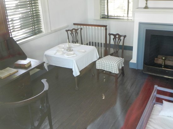 Thomas Jefferson's room/house while Monticello was being built