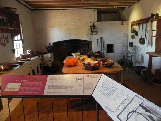 Monticello kitchen
