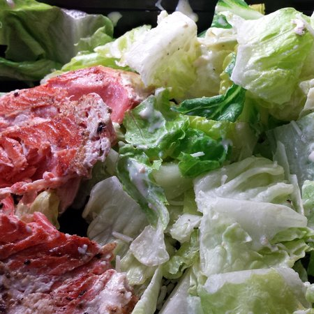 White Spot: Salmon Caesar Salad