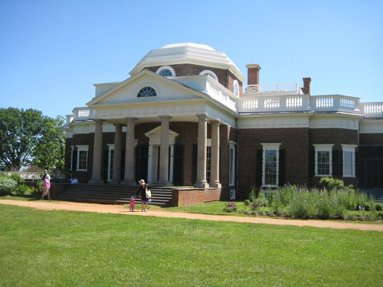 Monticello, residencia de Thomas Jefferson: Monticello