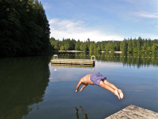 Alice Lake Provincial Park: Sept 20 swim
