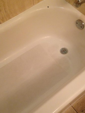 DoubleTree by Hilton Hotel Atlanta Downtown: Dirty tub