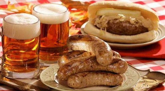 Stoudt's Black Angus Restaurant & Brew Pub: German Sausage