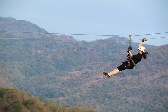 Outdoor Adventure by Vallarta Adventures: Zip lining!