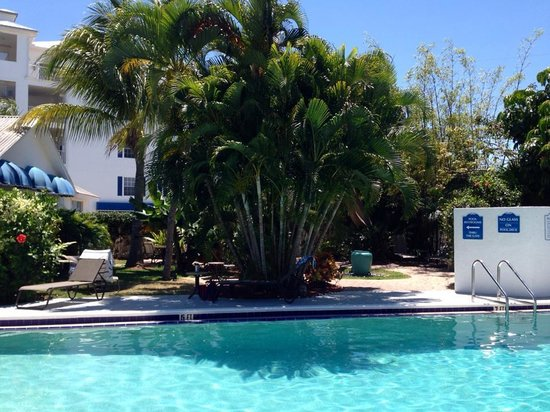 Olde Marco Island Inn and Suites: Private Pool w/Hot Tub.