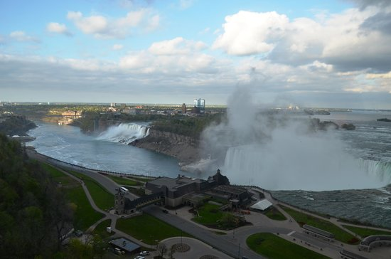 Niagara Falls Marriott Fallsview Hotel & Spa: View from out room