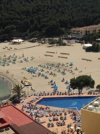 Sirenis Cala Llonga Resort: our view from our room