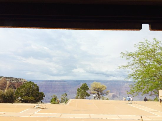 Thunderbird Lodge: View out the window