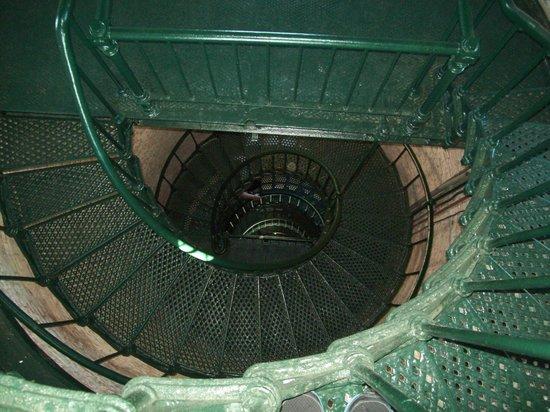 Currituck Beach Lighthouse: stairs