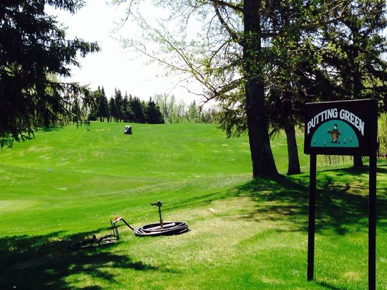 Elk Island National Park: Golf Course