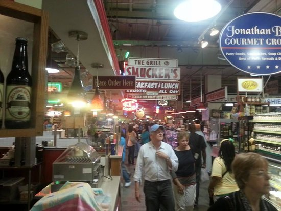 Reading Terminal Market: Inside the Market