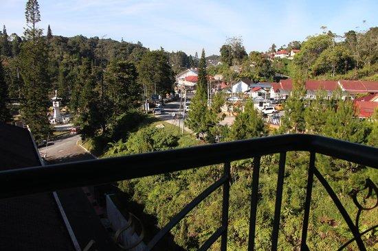 Hotel De' La Ferns: balkon