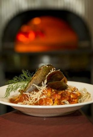 The Hot Rock Gourmet Pizza Pasta Bar: Spaghetti Marinara