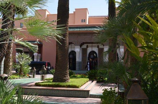 La Mamounia Marrakech : Entrada e jardins circundantes La Mamounia-Marrakech