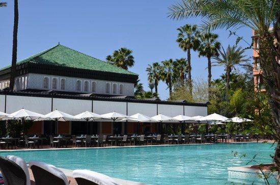 La Mamounia Marrakech: Piscina do hotel La Mamounia-Marrakech