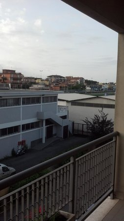 Hotel Jonico : Vista desde el balcon de la hab.