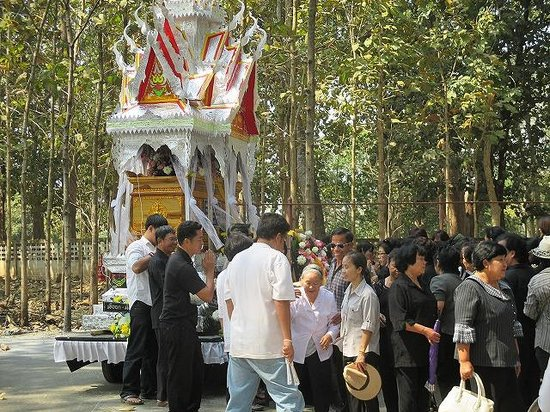 Chiang Saen: 最後のお別れ。
