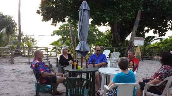 Heilala Holiday Lodge : typical evening