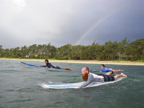 Active Oahu Tours: Early Morning Surf Lesson