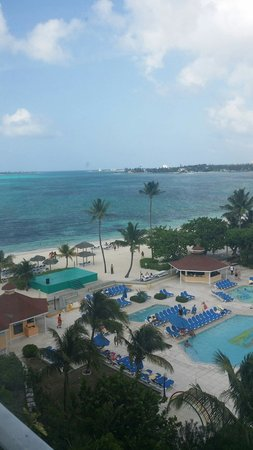 Breezes Resort & Spa Bahamas : View from the room