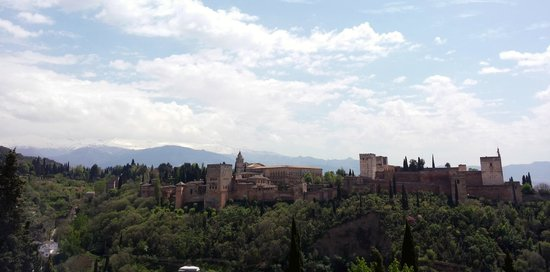 Mirador de San Nicolas: Alhambra from St. Nicholas Church