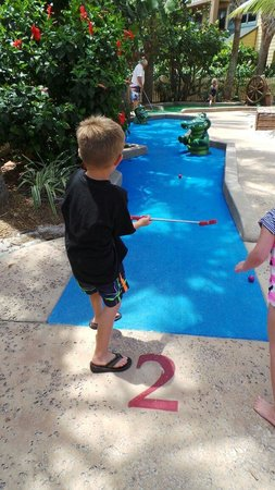 Disney's Vero Beach Resort: Mini golf