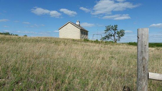 Tallgrass Prairie National Preserve : Old schoolhouse