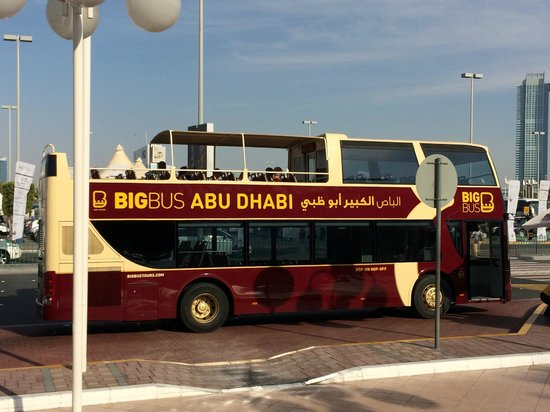Big Bus Tours Abu Dhabi: Big Bus City Tour - Abu Dhabi