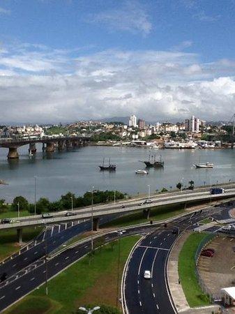 vista do quarto do hotel Intercity Florianopolis