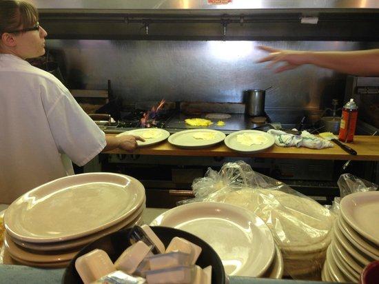 Waffle & Pancake Shoppe: Kitchen magic at the Waffle House