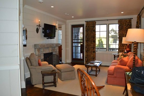 Old Edwards Inn and Spa: My cottage living area