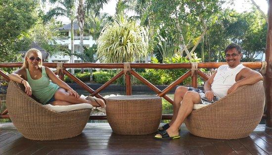 Grand Riviera Princess All Suites Resort & Spa: En uno de las ..... palapas?