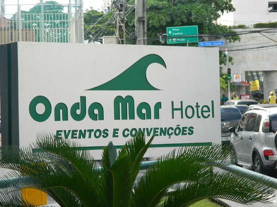 Ondamar Hotel: Identificação externa