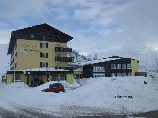 Sporthotel St. Christoph : front of hotel