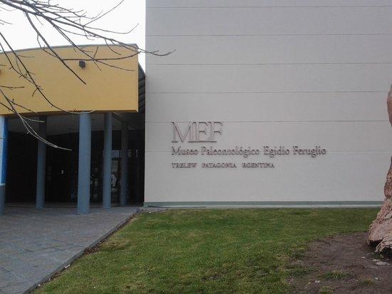 Museo Paleontologico Egidio Feruglio: Fachada del museo