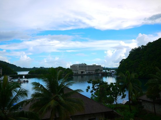 Palau Royal Resort : 窗外美景