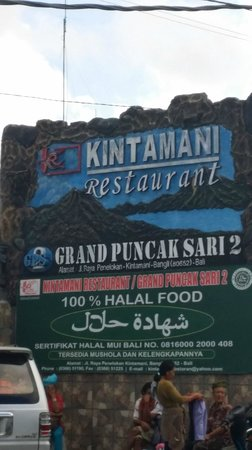 Kintamani Highland: Enjoy Lunch and overlook at the Volcano mountain