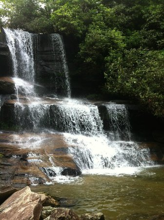 Miller's Land of Waterfall Tours : One of the many waterfalls we saw