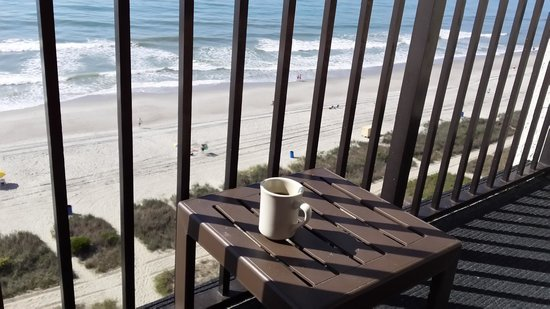 Caribbean Resort And Villas: Morning coffe on the balcony :)