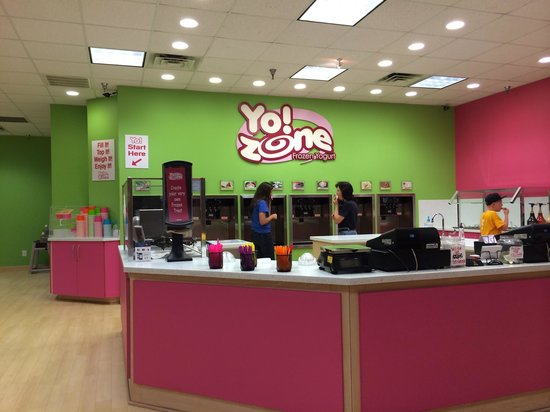 Yo Zone : Holly Hill mall location