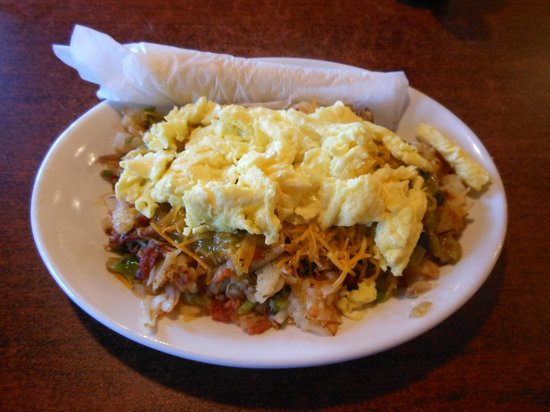 Notchtop Bakery & Cafe : Santa Fe Hash, a rib sticker