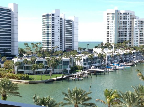 View From My Patio Picture Of The Ritz Carlton Sarasota