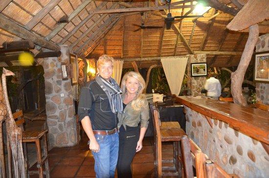 Ezulwini Game Lodges: River Lodge reception area