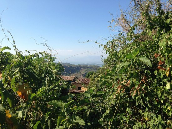 Los Almendros De San Lorenzo : View of the lake from the rooftop terrace