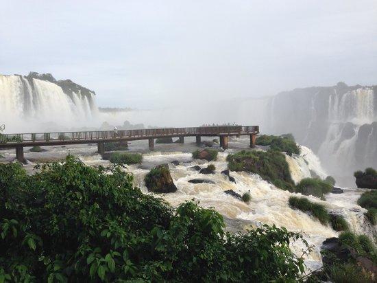 Belmond Hotel das Cataratas: Falls Viewing Platform Brazil Side of Falls